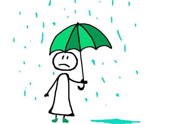 梦见下雨是什么意思