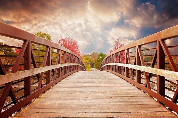 梦见独木桥是什么意思