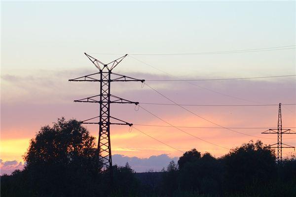 梦见电线杆是什么意思