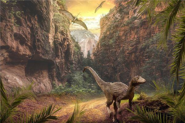 梦见恐龙是什么意思