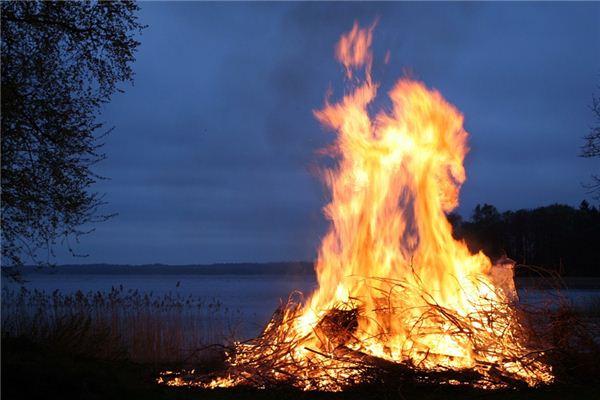 梦见火堆是什么意思