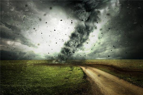 梦见台风是什么意思