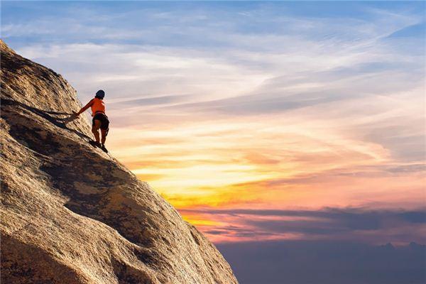 梦见攀登是什么意思