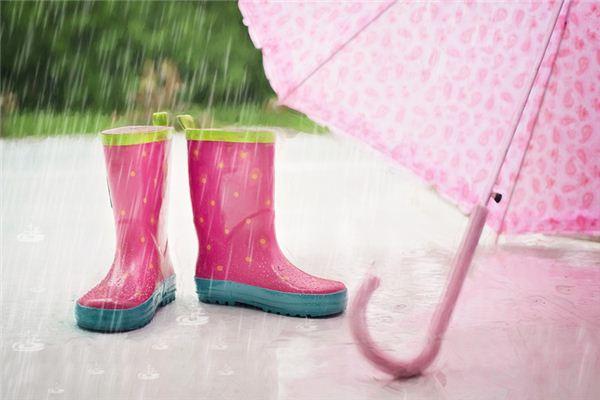 梦见淋雨是什么预兆