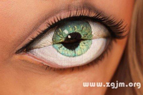 梦见眼睛 目
