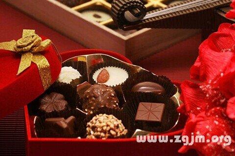 梦见巧克力