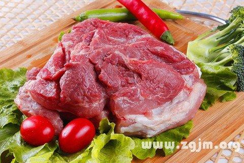 梦见自己吃自己的肉了