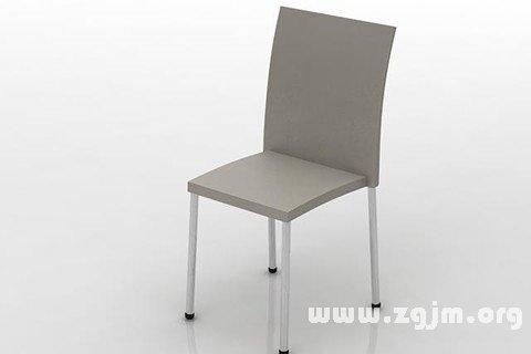 梦见椅子 凳子