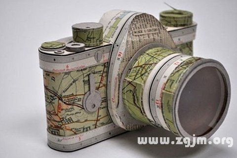 梦见照相机