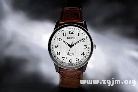 夢見表 手表