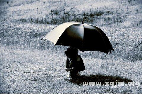 梦见伞 打伞