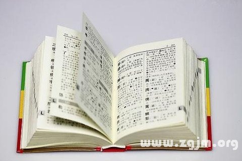 梦见字典 词典