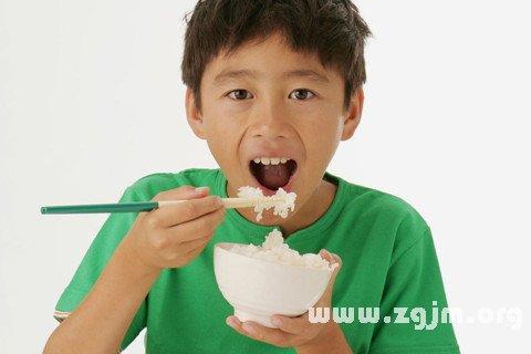 夢見吃飯 用餐