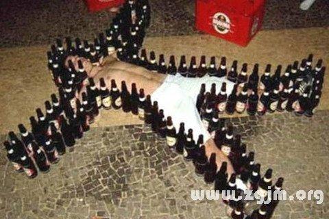 梦见喝醉酒