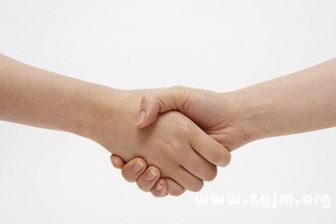 梦见和死去的同学握手