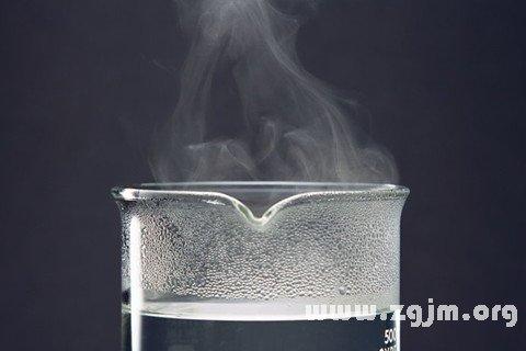 梦见水蒸气