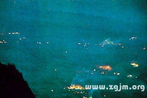 夢見鬼火 磷火