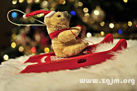 梦见圣诞节