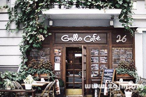 梦见咖啡屋
