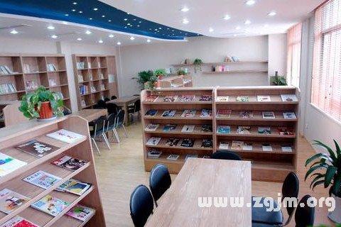 梦见阅览室