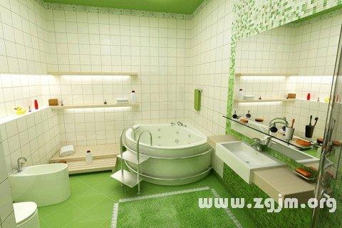 梦见洗手间 盥洗室