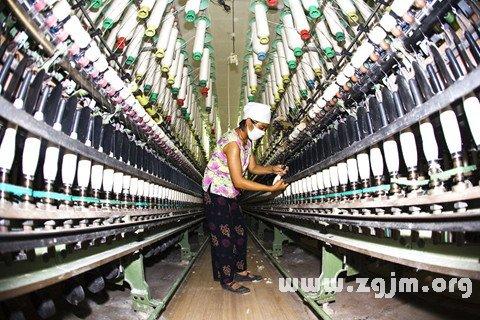 梦见纺织厂