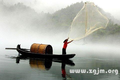 梦见渔夫 渔民