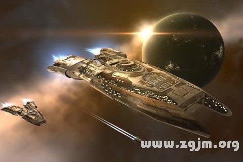 梦见宇宙飞船 太空飞船