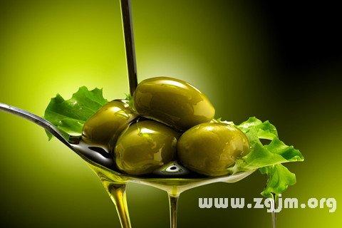 梦见橄榄油