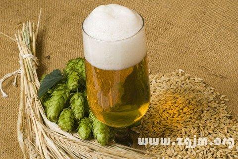 梦见啤酒 喝啤酒