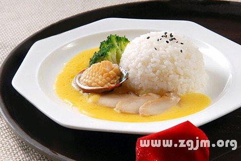 梦见饭 米饭