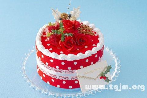 梦见生日蛋糕