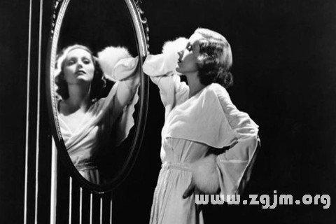 梦见捡到镜子