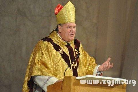 梦见大主教 教皇