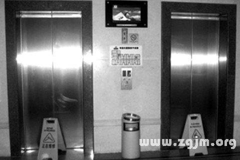 梦见电梯坏了