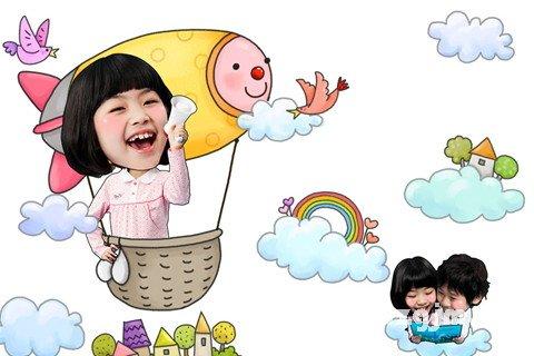 梦见坐热气球