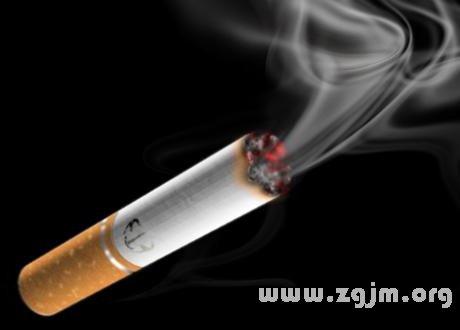 梦见吸烟 香烟