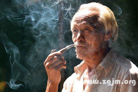 梦见吸烟斗