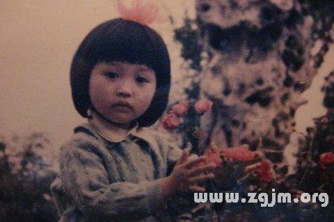 梦见小时候的照片