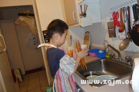 梦见洗筷子