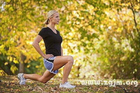 梦见锻炼身体