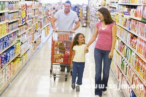 梦见在超级市场购物