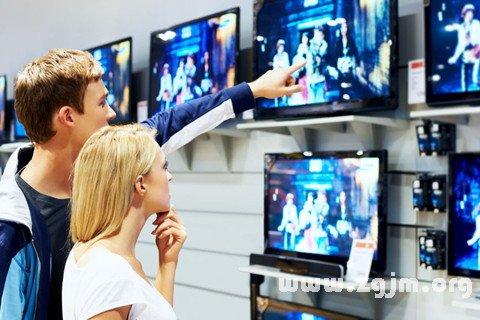 梦见买电视