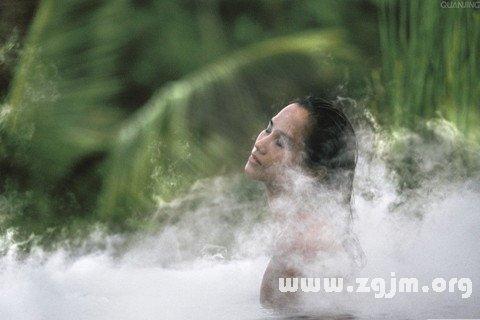 梦见蒸汽浴