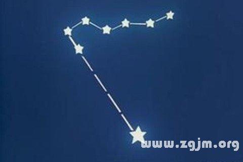 梦见两颗星相连而行