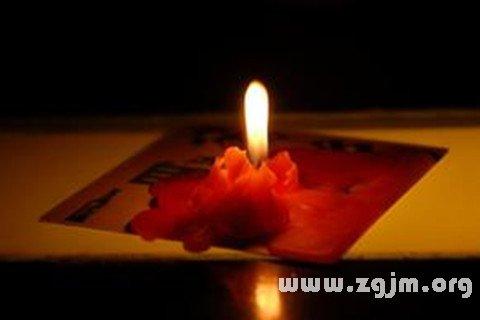 梦见蜡烛在燃烧