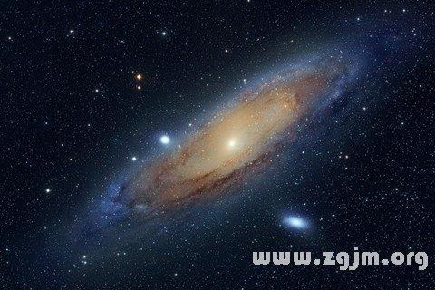 梦见渡过银河