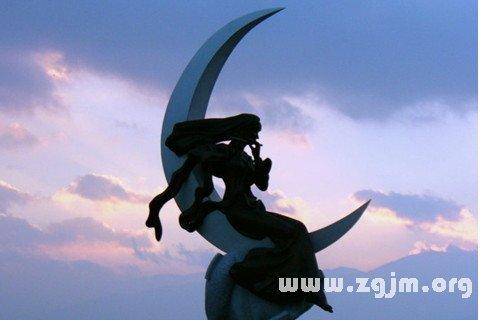 梦见月亮女神