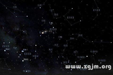 梦见星相图