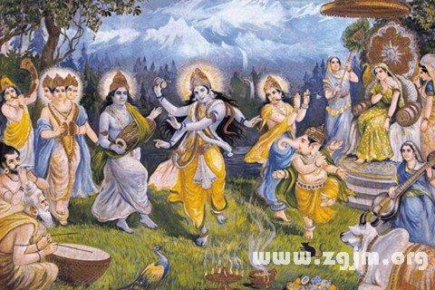 梦见印度众神